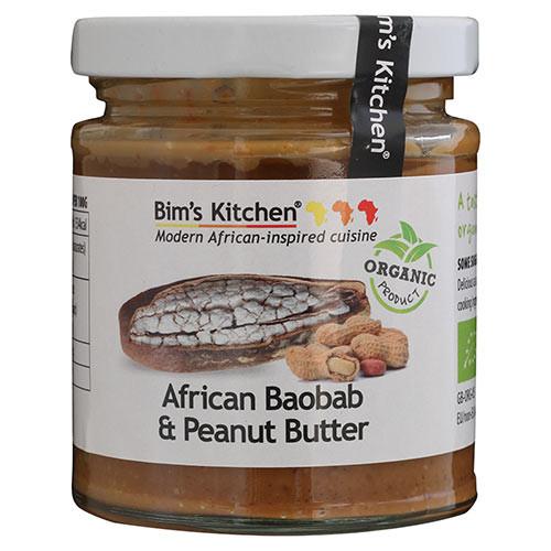 BIMS KITC African Baobab & Peanut butter,170g