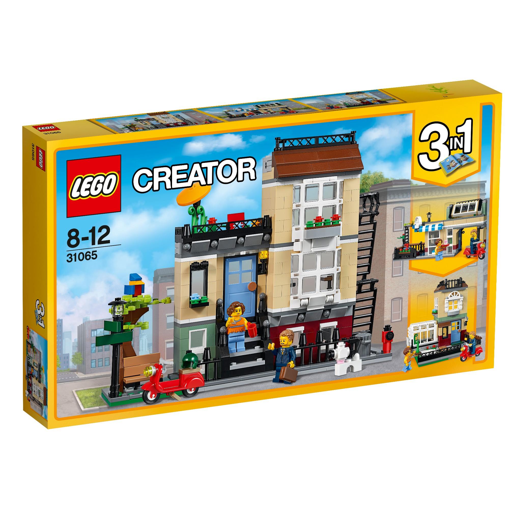Konstruktorius LEGO Creator Namas Parko gatvėje 8-12 metų vaikams (31065)