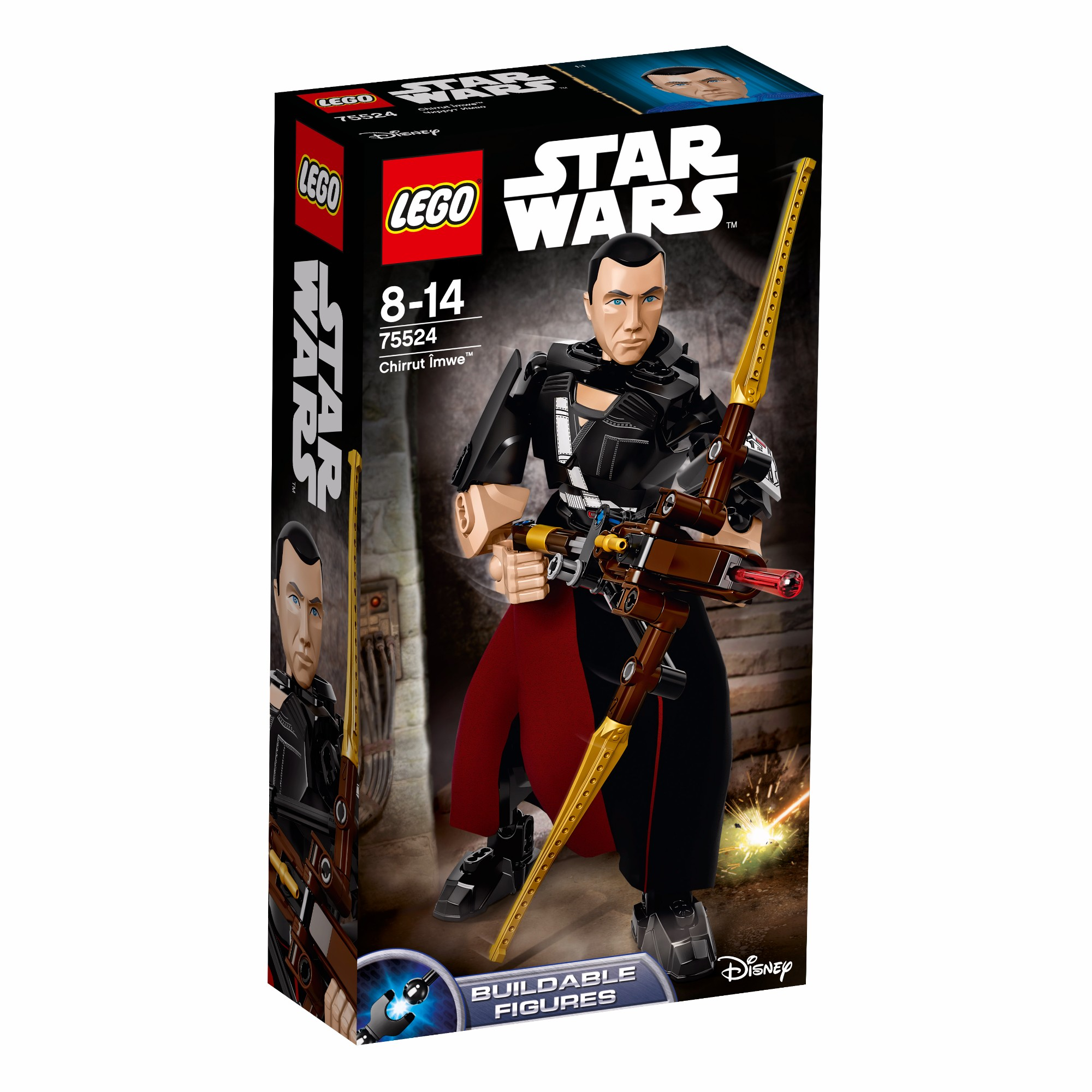 Konstruktorius LEGO STAR WARS Chirrut Imwe™ 8-14 metų vaikams (75524)