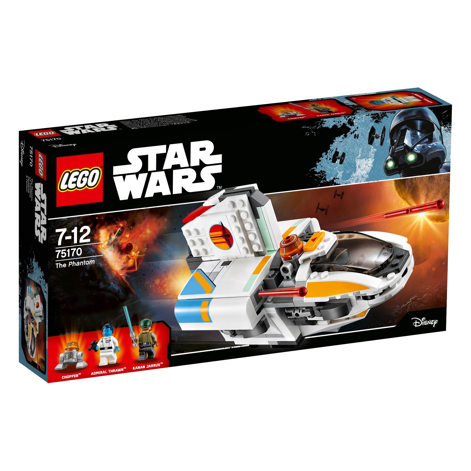 Konstruktorius LEGO Star Wars Fantomas 7-12 metų vaikams (75170)