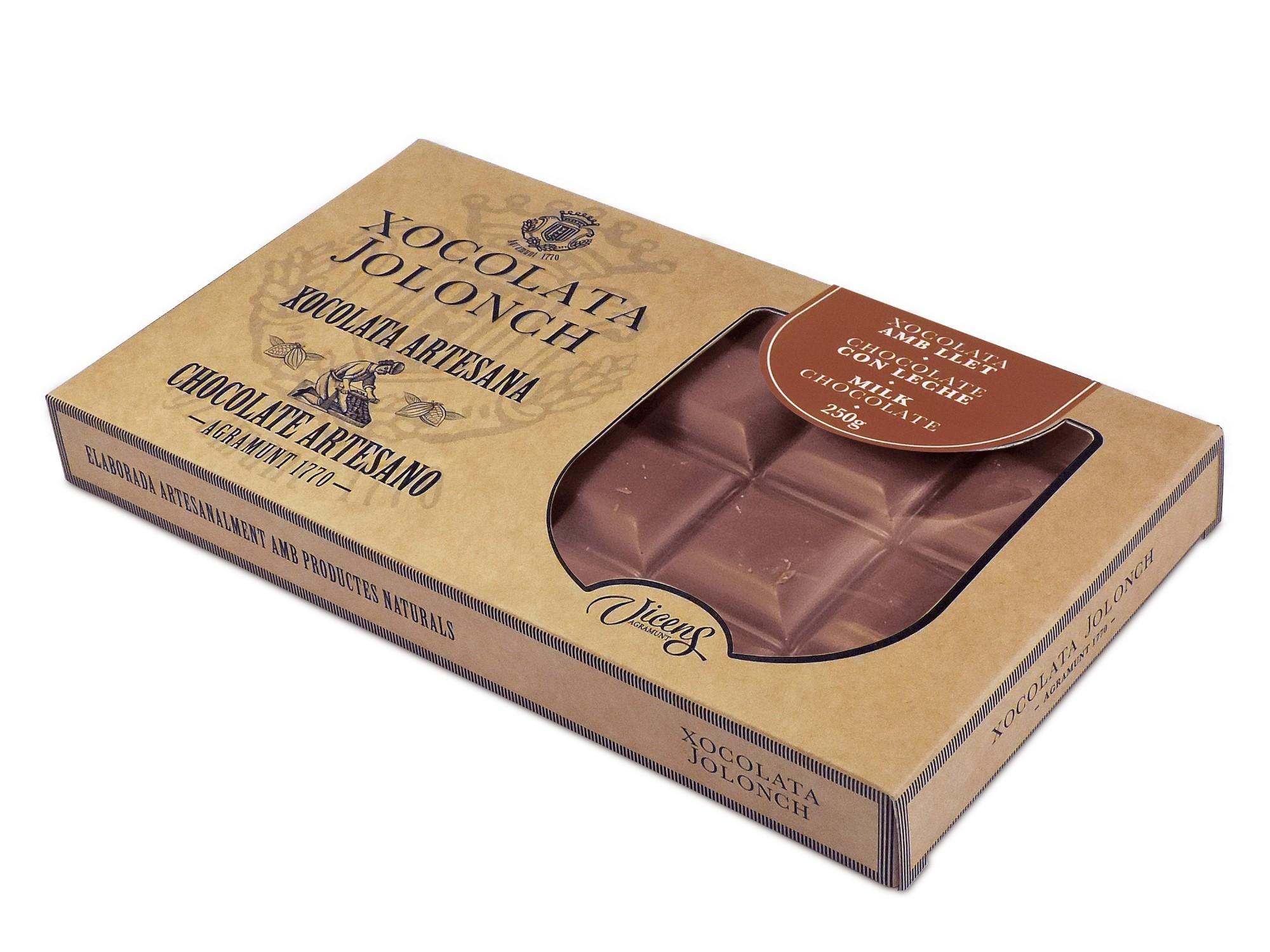 Pieninis šokoladas JOLONCH, 200g