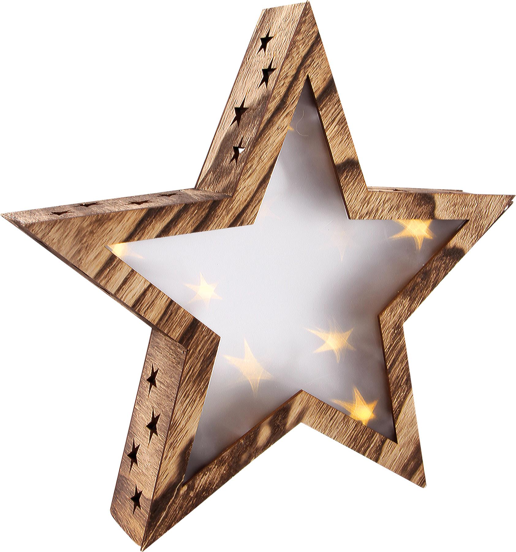 Šviečianti kalėdinė žvaigždė SMALL FOOT, 1 vnt.