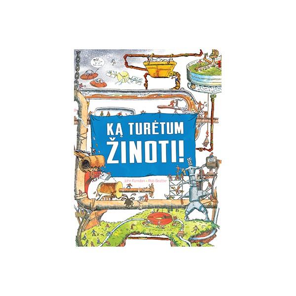 Knyga NIEKO RIMTO Ką turėtum žinoti 7-10 m. vaikams