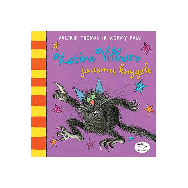 Knyga NIEKO RIMTO Katino Vilburo jausmų knygelė 0-2 m. vaikams