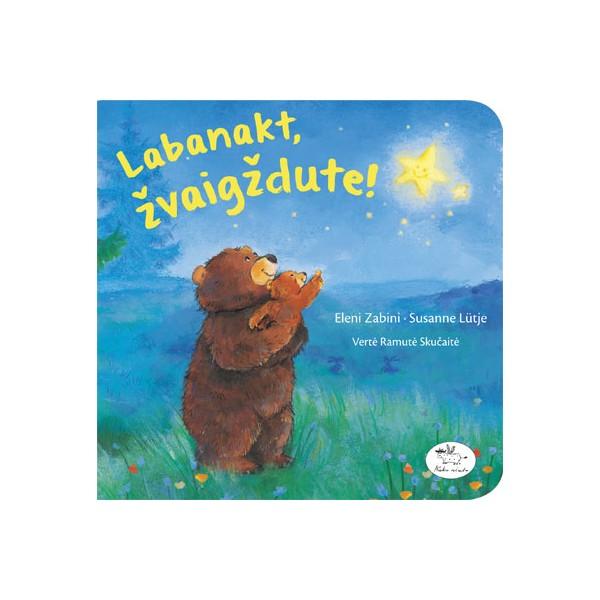 Knyga NIEKO RIMTO Labanakt, žvaigždute 0-2 m. vaikams