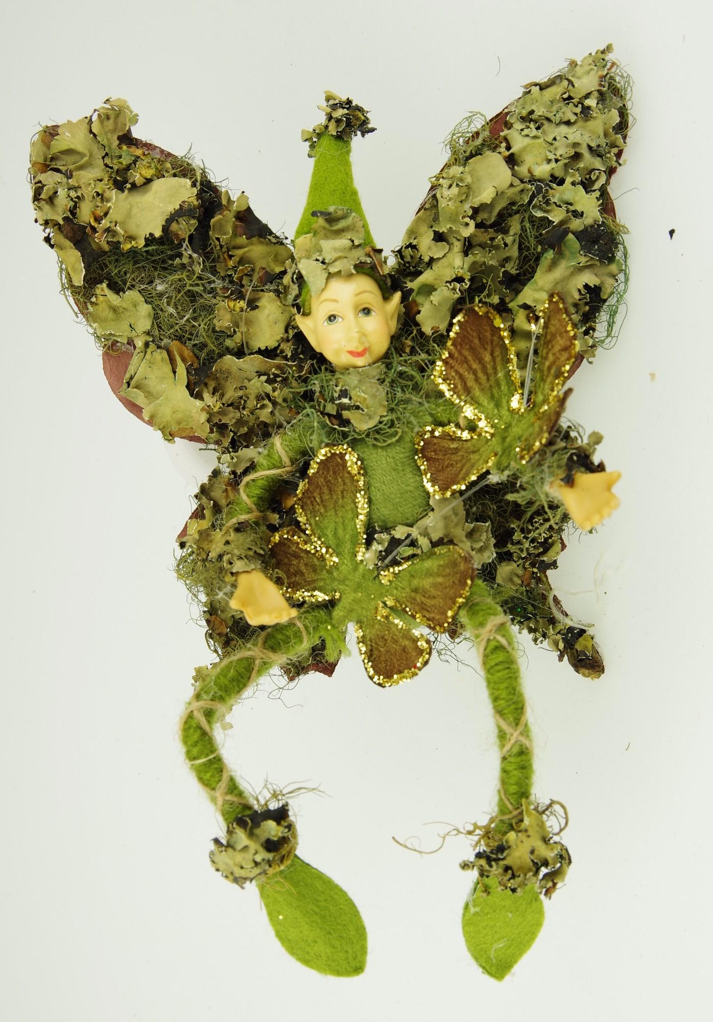 """Kalėdinis žaisliukas GĖLIŲ LANKOS """"Drugelių elfas"""", 1 vnt."""
