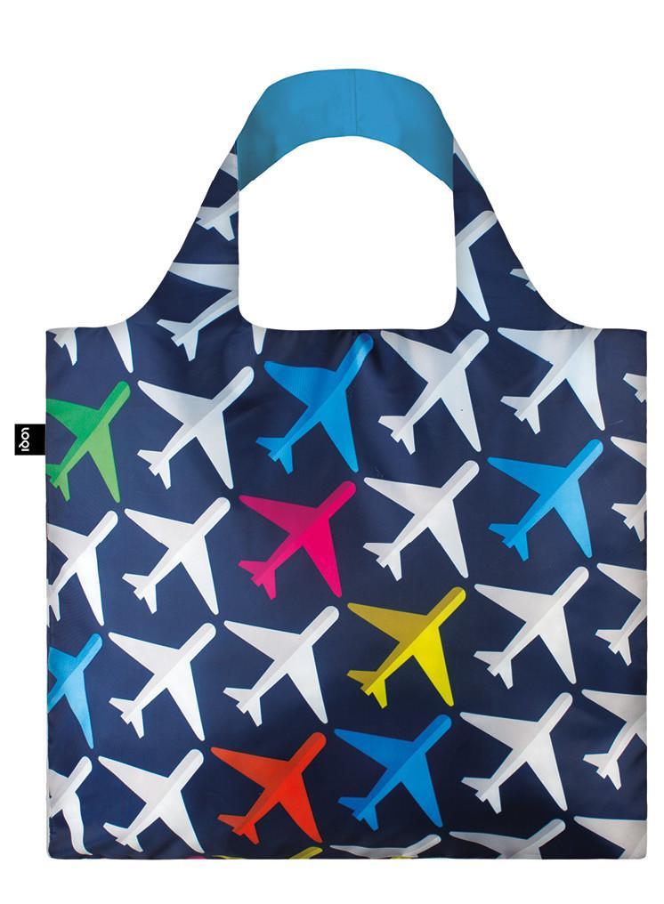 Pirkinių maišelis LOQI Airplane Bag, išmatavimai 50x42cm, 1 vnt.
