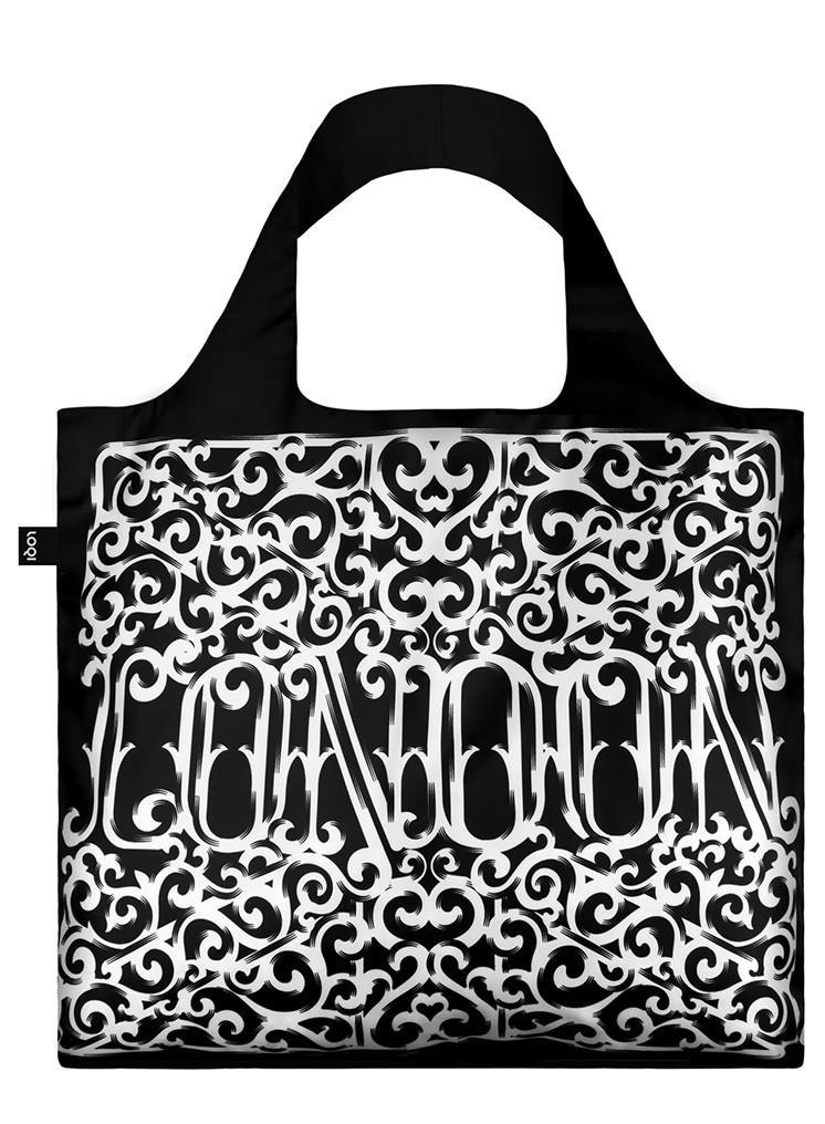 Pirkinių maišelis LOQI London Heritage Bag, išmatavimai 50x42cm, 1 vnt.