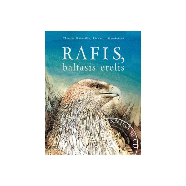 Knyga NIEKO RIMTO Rafis, baltasis erelis vaikams nuo 0 mėn.
