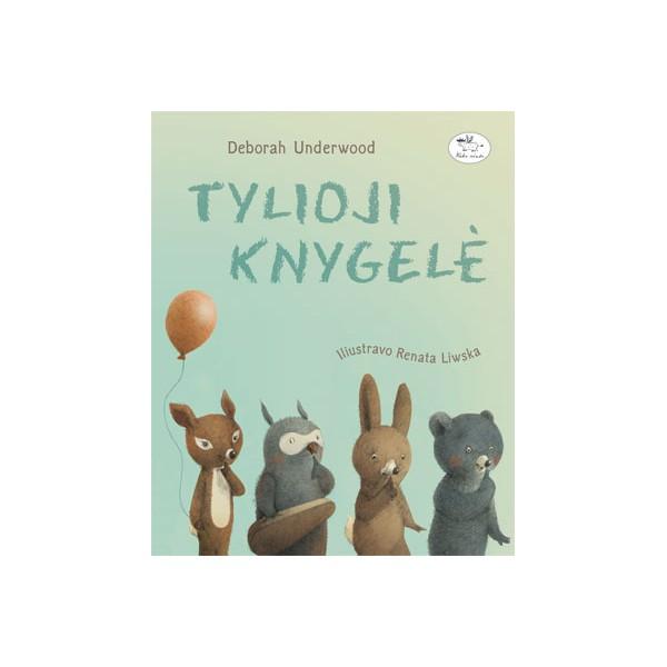 Knyga NIEKO RIMTO Tylioji knygelė 0-2 m. vaikams