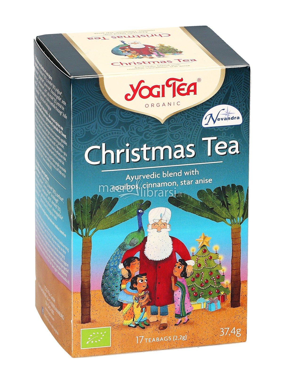 YOGI TEA Christmas Ekologiška Kaledinė arbata,37.4g