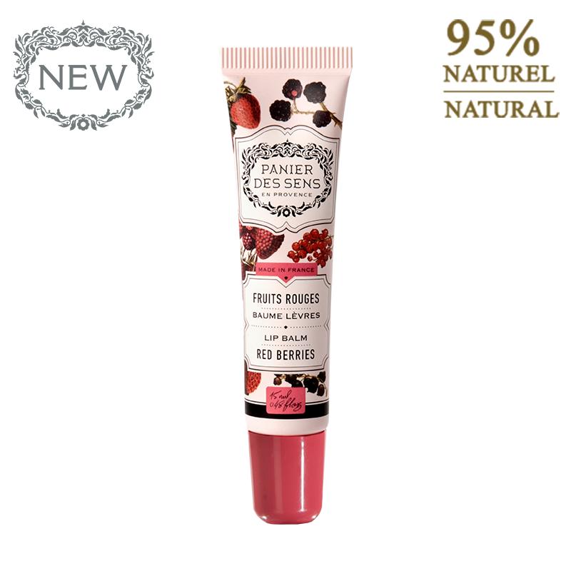 Lūpų balzamas PANIER DES SENS Red Berries, 15 ml