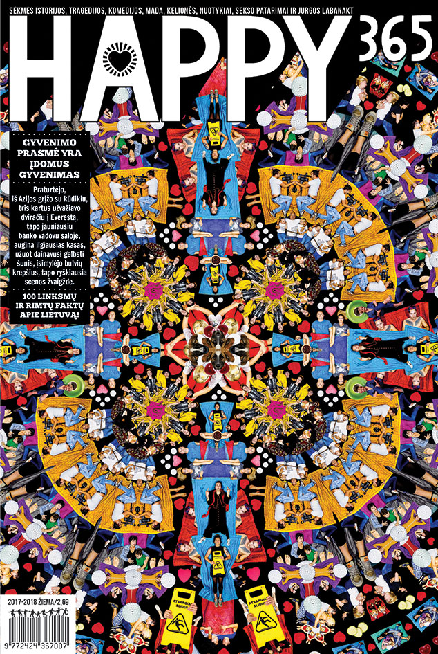 Žurnalas HAPPY365, 1 vnt.