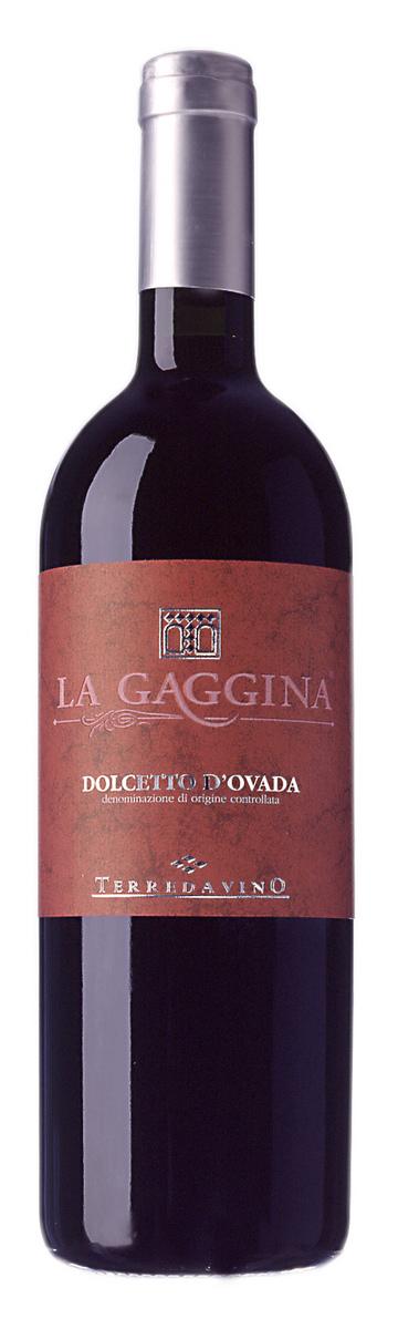 Raudonasis vynas Terredavino La Gaggina Dolcetto DOC, 12,5% tūrio 0.75L