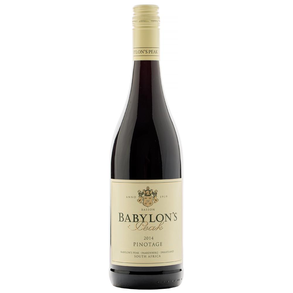 Vynas Babylon's Peak Pinotage 14,5% 0,75l