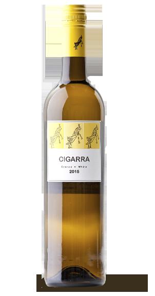 Baltasis sausas vynas CIGARRA 12,5% 0,750l