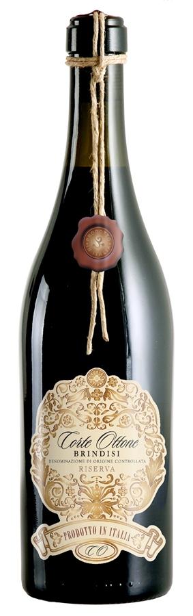 Vynas Corte Ottone Brindisi Riserva 13% 0,75l