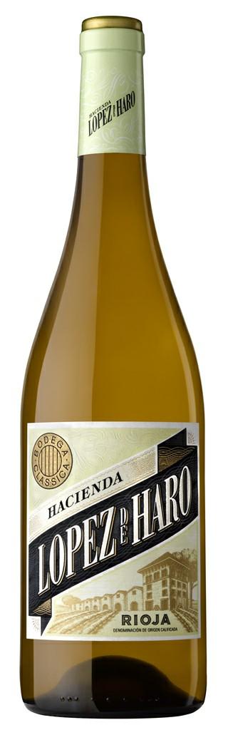Vynas Hacienda Lopez de Haro Blanco Rioja 12,5% 0,75l