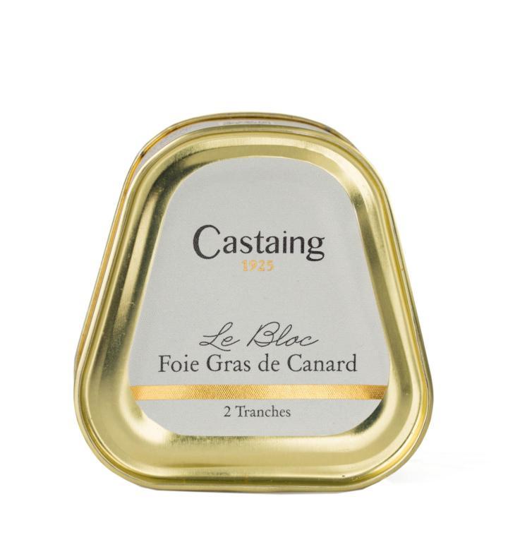 Smulkintos ančių kepenėlės CASTAING Foie Gras, 75g