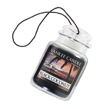 Kvapukas automobiliui YANKEE CANDLE Single  Black Coconut, 1  vnt.