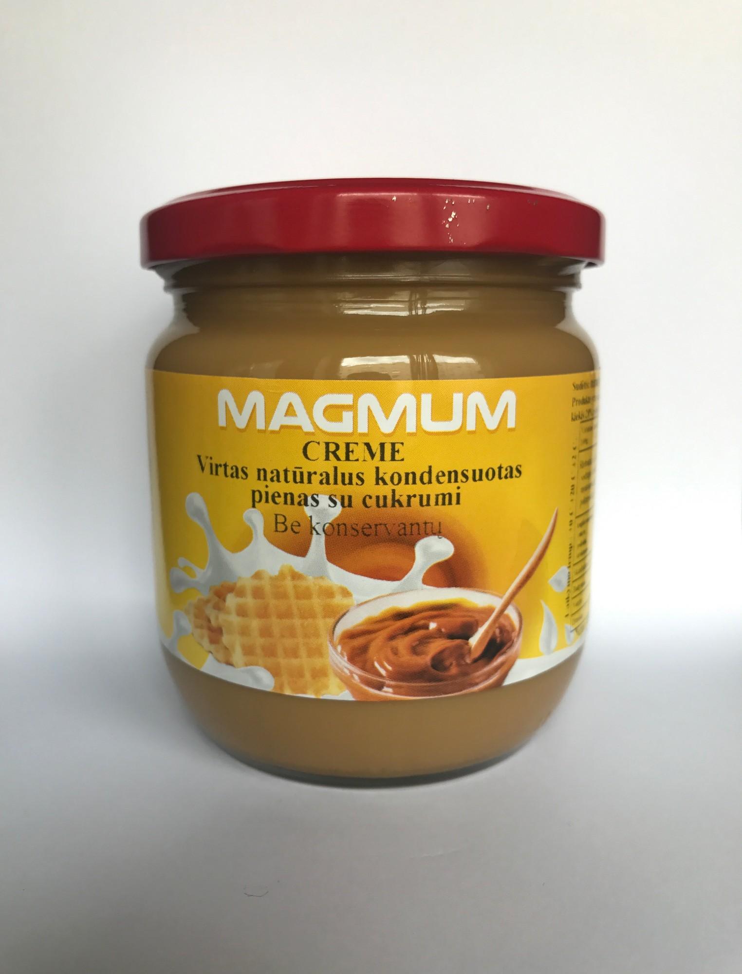 Virtas kondensuotas pienas MAGMUM Creme, 485g