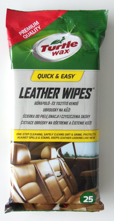 Odos valymo servetėlės TURTLE WAX,  25 vnt.