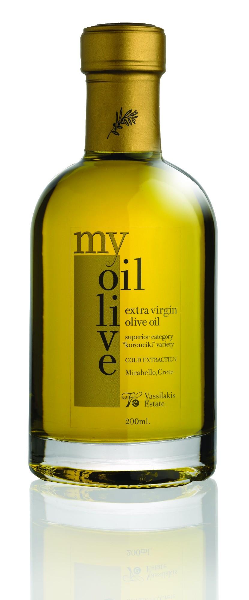 Ypač tyras alyvuogių aliejus MY OLIVE OIL VASSILAKIS ESTATE, 200ml