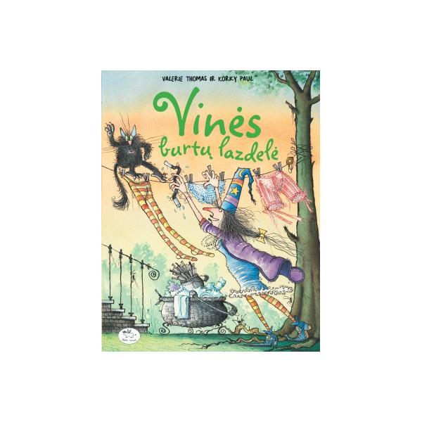 Knyga NIEKO RIMTO Vinės burtų lazdelė 3-6 m. vaikams