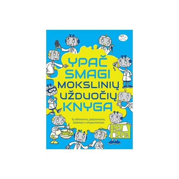 Ypač smagi mokslinių užduočių knyga NIEKO RIMTO 7-10 m. vaikams