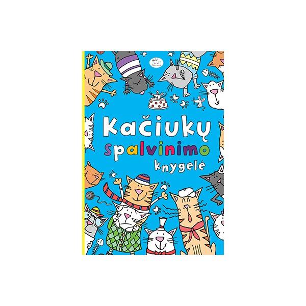 Kačiukų spalvinimo knygelė NIEKO RIMTO 7-10 m. vaikams