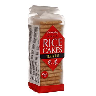 Ryžių sausainiukai Teriyaki skonio CLEARSPRING, 150g