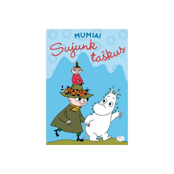 Užduočių knygelė NIEKO RIMTO Mumiai – Sujunk taškus 3-6 m. vaikams