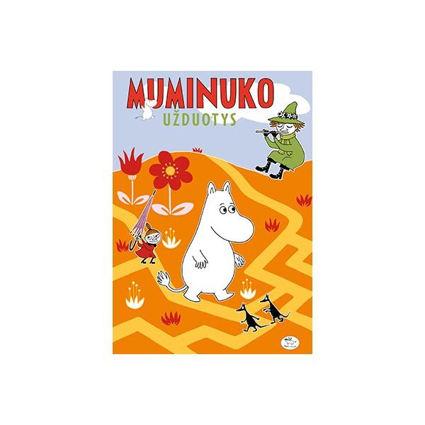 Užduočių knygelė NIEKO RIMTO Muminuko užduotys 2 7-10 m. vaikams
