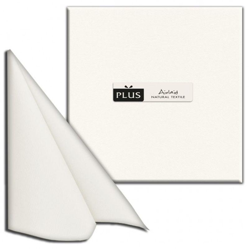 Servetėlės AIRLAND balta išmatavimai 40x40x50