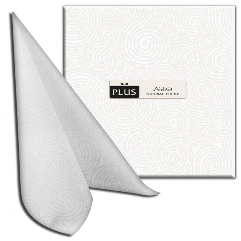Servetėlės AIRLAND Twist Bianco išmatavimai 40x40x25