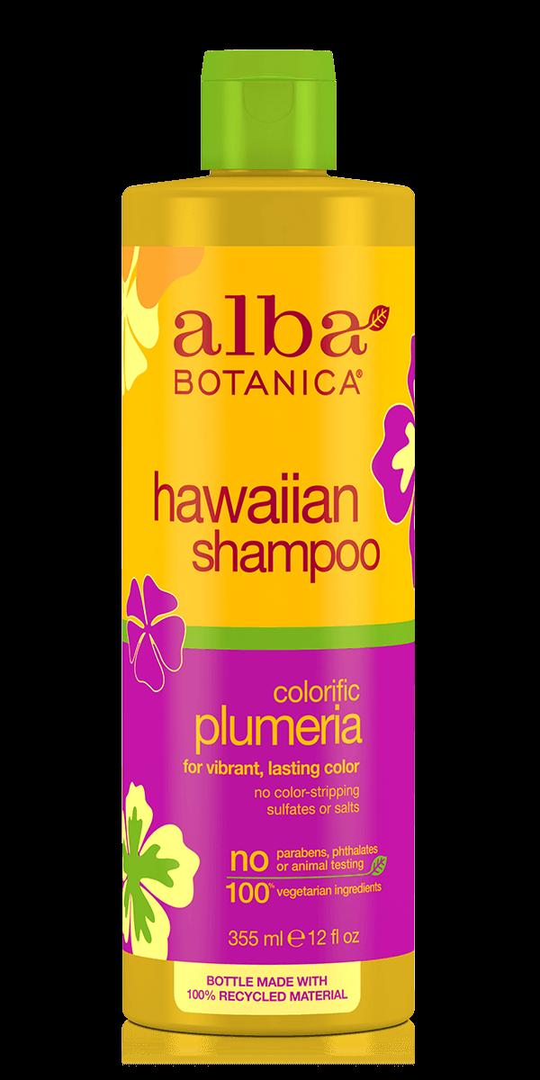 Šampūnas dažytiems plaukams ALBA BOTANICA su jostru, 350 ml