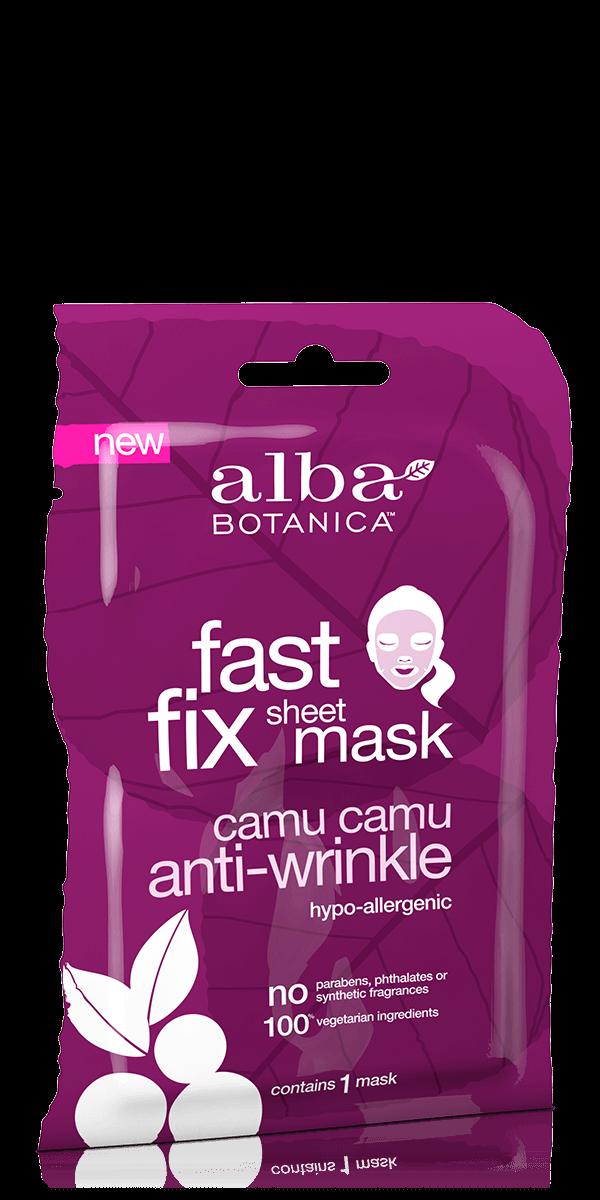 Priešraukšlinė kaukė veidui ALBA BOTANICA su indiškuoju lapainiu, 1 vnt.