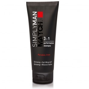 Šampūnas vyrams 3 in 1 SIMPLY MAN, 200 ml