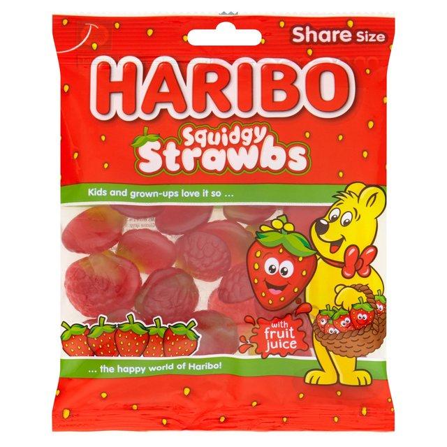 Guminukai HARIBO Strawbs, 140g