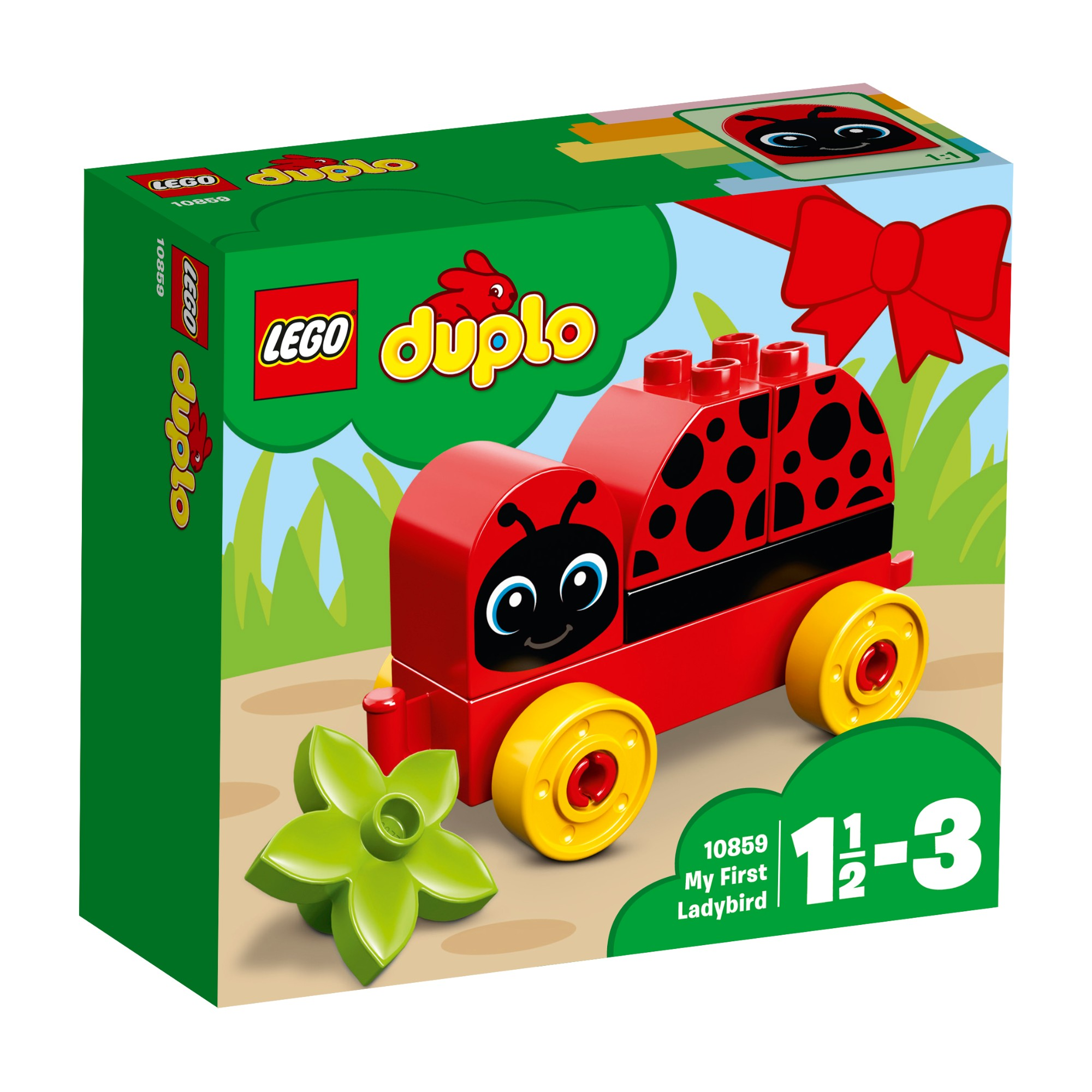 Konstruktorius LEGO DUPLO Mano pirmoji boružė 1-3 metų vaikams (10859)