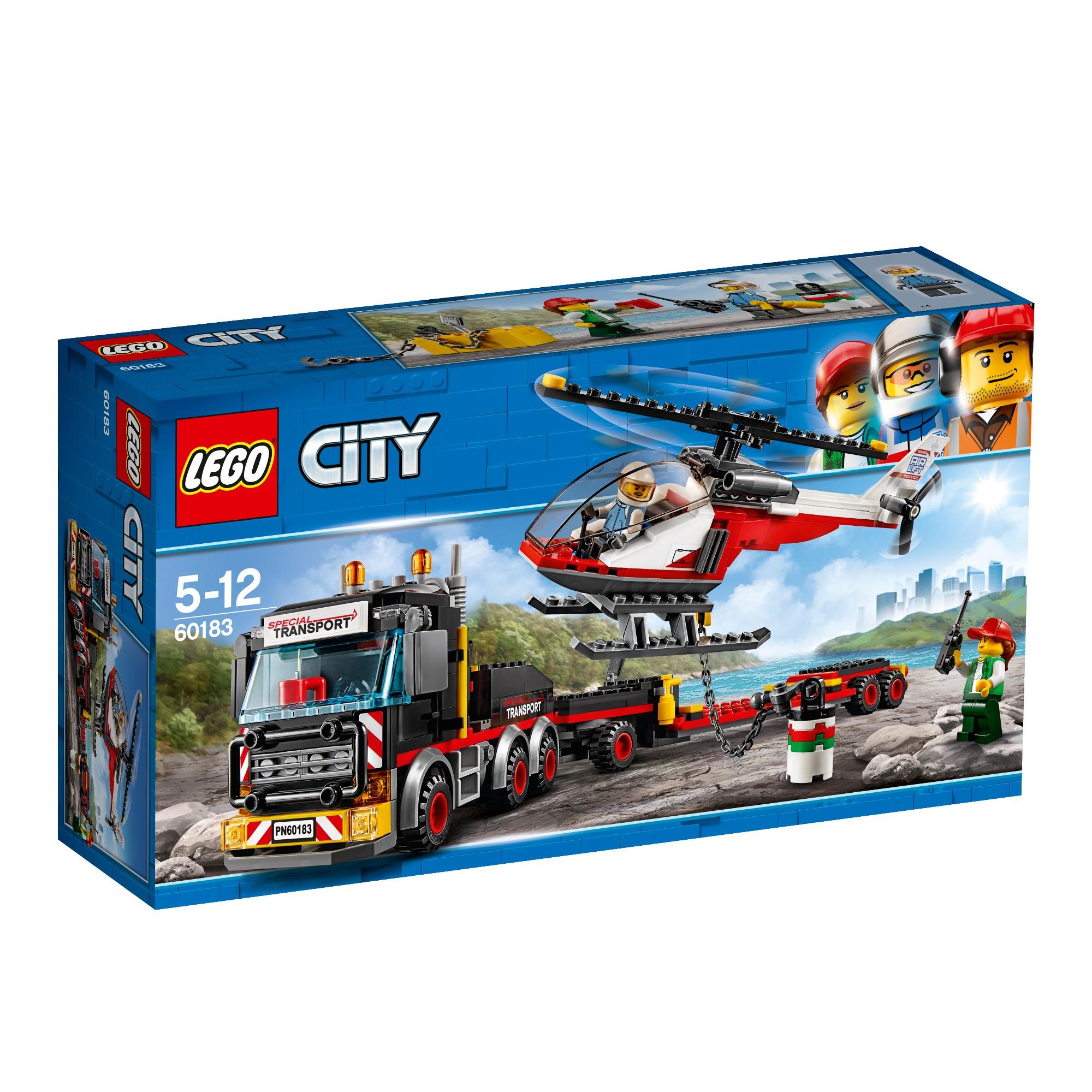 Konstruktorius LEGO CITY GREAT VEHICLES Krovinių sunkvežimis 5-12 metų vaikams (60183)