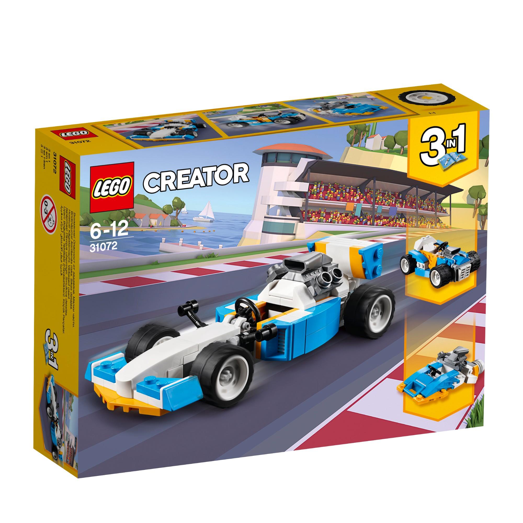 Konstruktorius LEGO CREATOR Galingiausi varikliai 6-12 metų vaikams (31072)