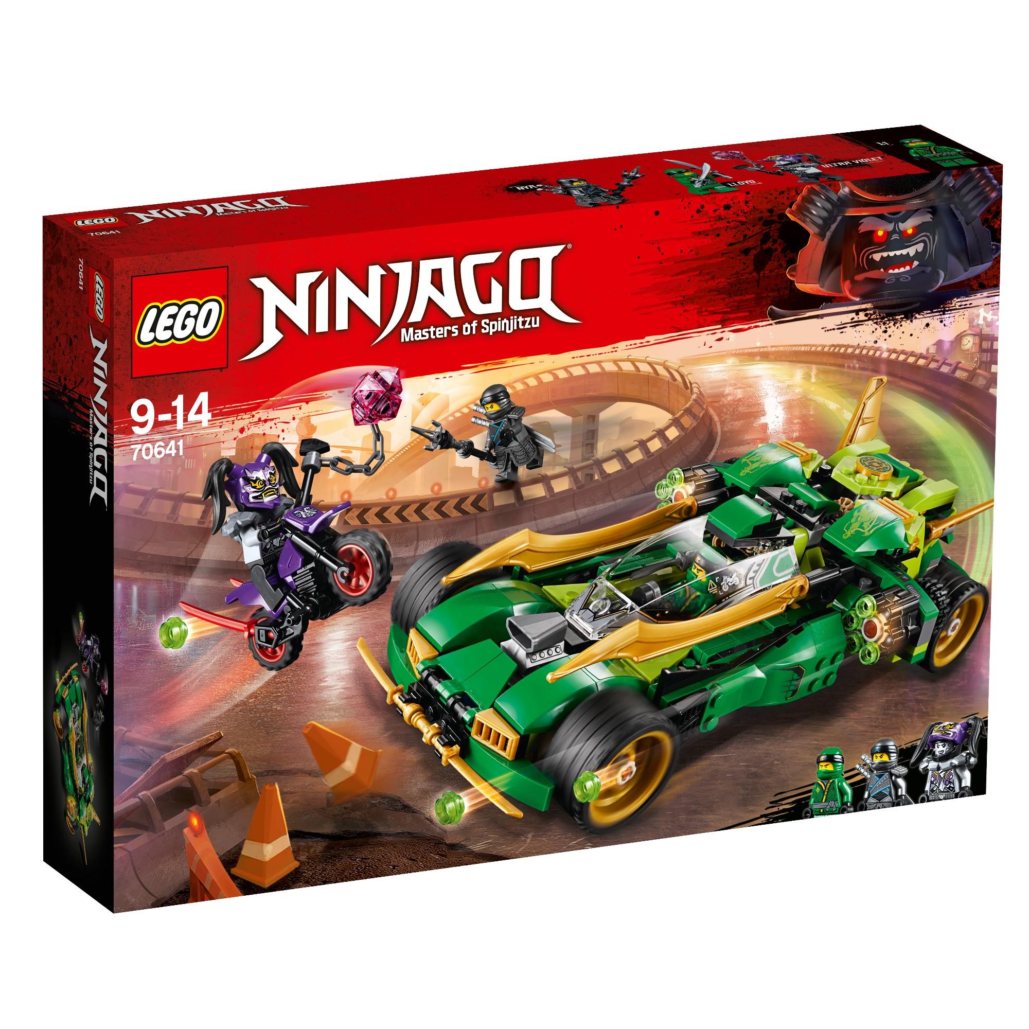 Konstruktorius LEGO NINJAGO Naktinis nindzė 9-14 metų vaikams (70641)