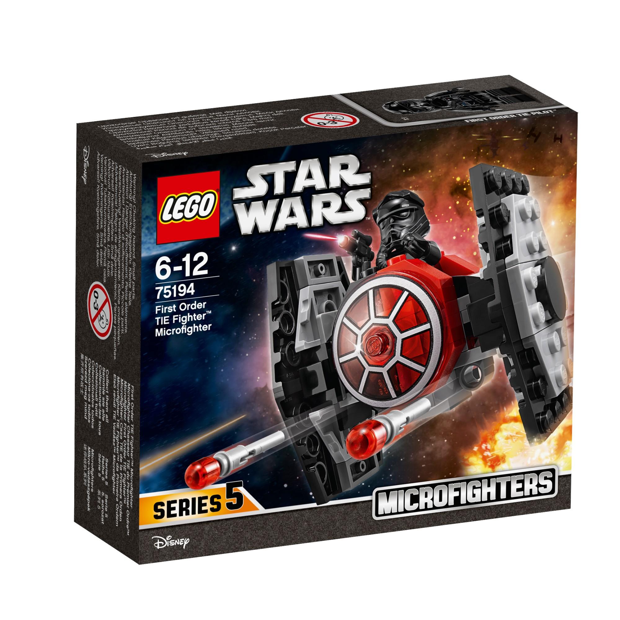 Konstruktorius LEGO STAR WARS TM Mažasis kovotojas First Order TIE Fighter™ (75194)