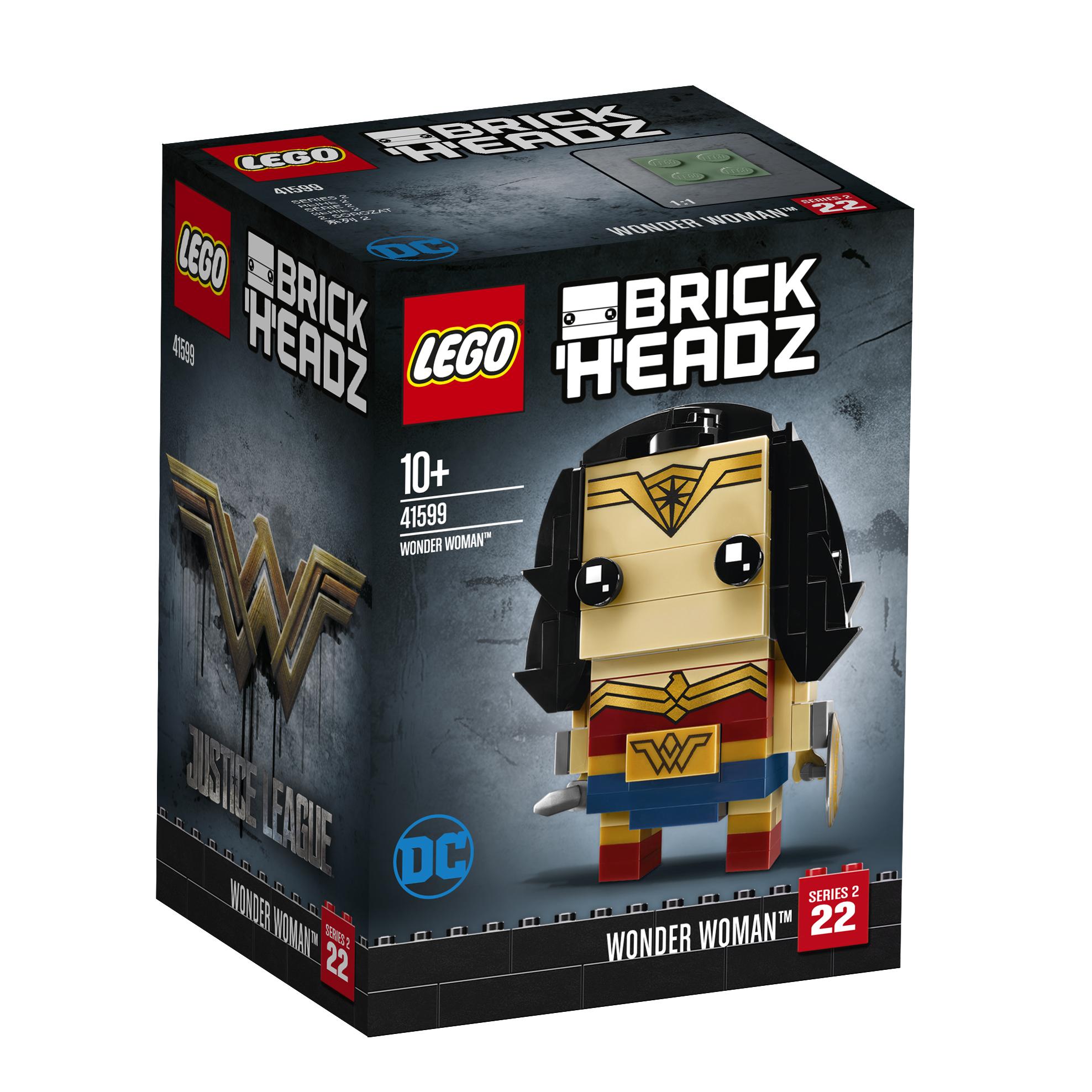 Konstruktorius LEGO BRICKHEADZ Wonder Woman™ vaikams nuo 10 metų (41599)