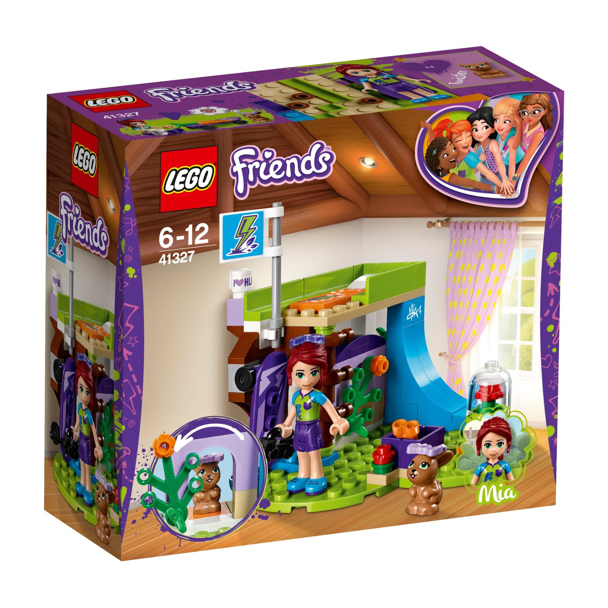 Konstruktorius LEGO FRIENDS Mia miegamasis 6-12 metų vaikams (41327)