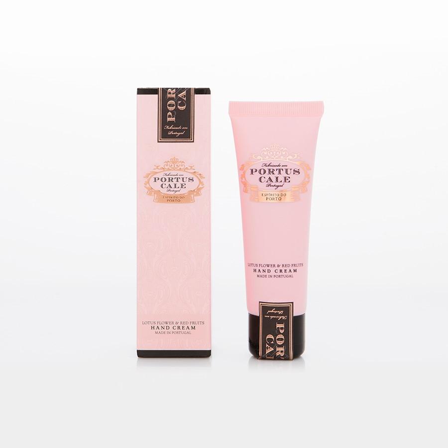 Aromatinis rankų kremas PORTUS CALE Rosé Blush, 50ml.