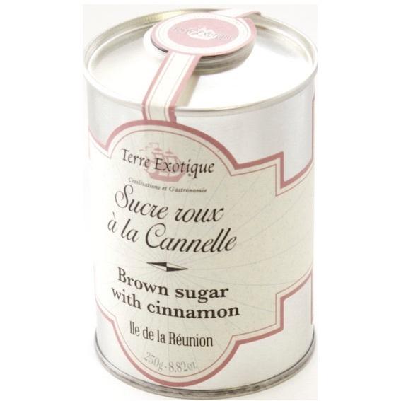 Rudasis cukrus su cinamonu TERRE EXOTIQUE, 250g