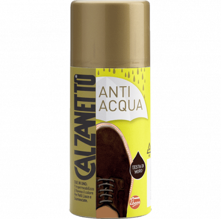 Apsaugos priemonė nuo vandens poveikio CALZANETTO tamsiai ruda, 200 ml
