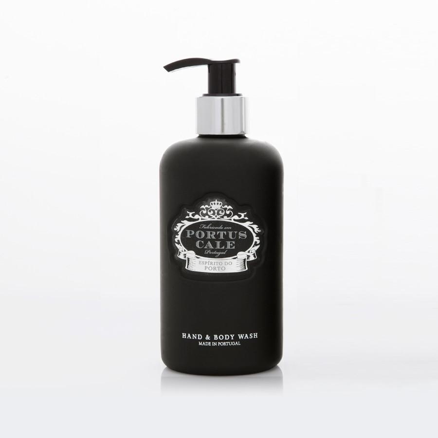 Aromatinis rankų ir kūno prausiklis PORTUS CALE  Black Edition, 300ml.